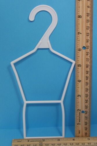 "10 Tall WHITE Doll Clothes Hangers For 14/"" American Girl Wellie Wishers Debs"