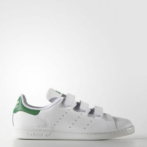 buy popular 7bb4f e828c adidas Originals Stan Smith CF White Green Mens Srap Shoes SNEAKERS S75187  11.5 for sale online   eBay