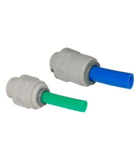 2 Franke Triflow Filter Housing - NEW Push Fit Fittings (9.03110 & 9.03210)