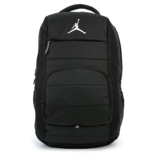 Air Jordan Jumpman All World Laptop Backpack Black Gray 9a1640 023 Ebay