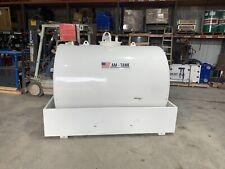 New 838 Gallon Fuel Tank Diesel Am Tank 120 Volt Pump Meter Containment Gauge