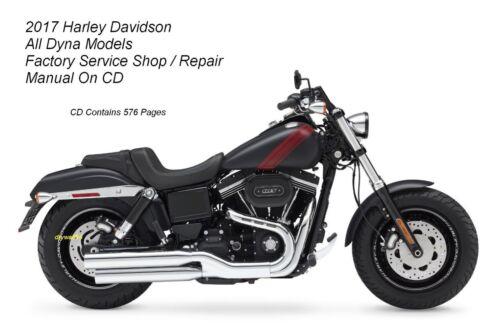 USB Flash Drive 2017 Harley Dyna Models Service Shop /& Repair Manual