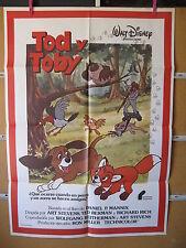 A1094  TOD Y TOBY - ANIMACION WALT DISNEY PICTURES