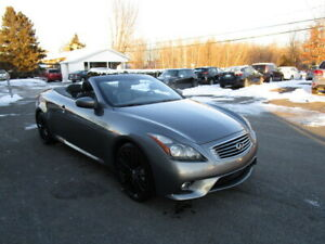 2013 Infiniti G37 G37S DECAPOTABLE CUIR MAG CAMERA