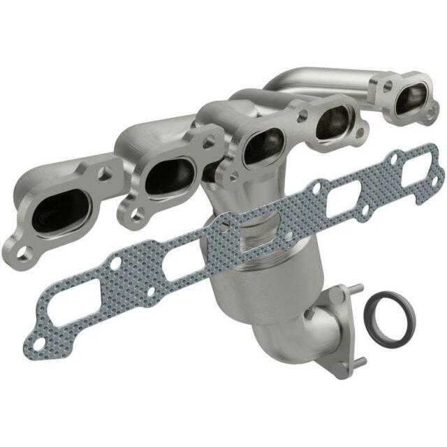 Catalytic Converter with Integrated Exhaust Manifold for 2011-2012 Chevrolet Col