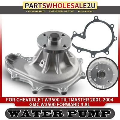 New Water Pump GWIS-42A for Isuzu NPR 4.8L Turbo Diesel 4HE1 1999-2004