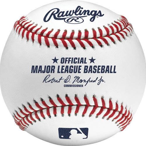 (1) Dozen  12 Rawlings Official Major League Baseball Game Ball Robert Manfred