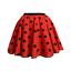 UK-GIRLS-LADIES-RED-NOSE-DAY-COSTUME-Polka-Dot-Skirt-FREE-SCARF-Fancy-Dress thumbnail 13