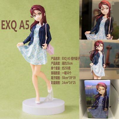 EXQ A5 Sunshine Sakurauchi Riko PVC Figure New No Box 23cm Anime LoveLive