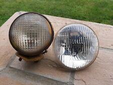 Vintage Guide Tractor Lens Light Part 5936059 Yellow Bullet Tear Dropamp T 3 Lens