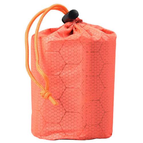 1set Emergency Sleeping Bag Emergency First Aid Sleeping Bag PE Film Tent US