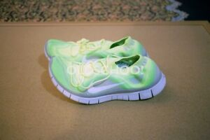 2ed32daa9f7a DS 2013 Nike Free Flyknit+ 5.0 Volt White-Electric Green-Wolf Grey ...