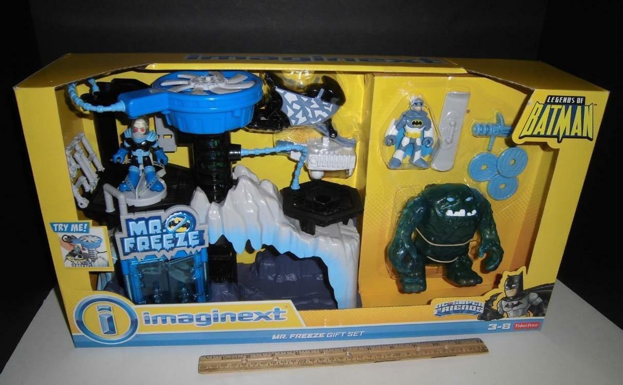 Imaginext Legends Batman Mr. Freeze Gift Set DC Fisher Price Superhero Comic
