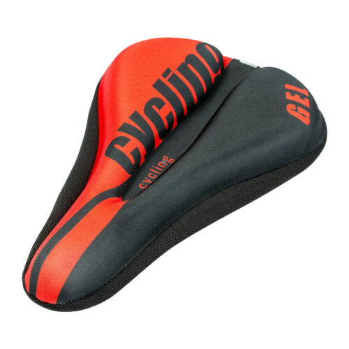 Mountain Bike Comfy Gel Pad Comfort Cushion Saddle Seat Cover Bicycle Cycle Soft