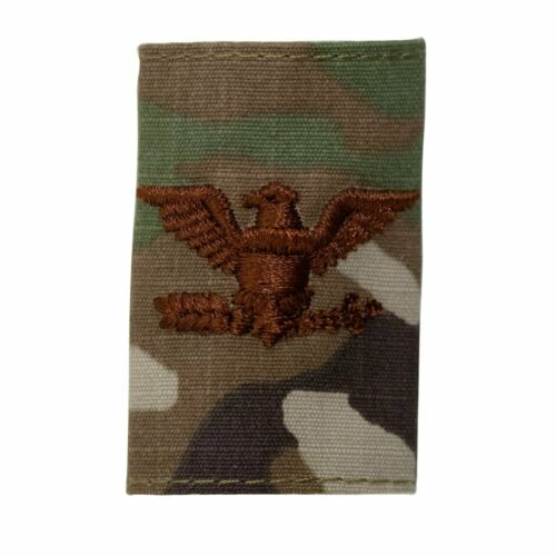 AIR FORCE GORTEX OFFICER RANK GENUINE U.S OCP JACKET TAB COLONEL