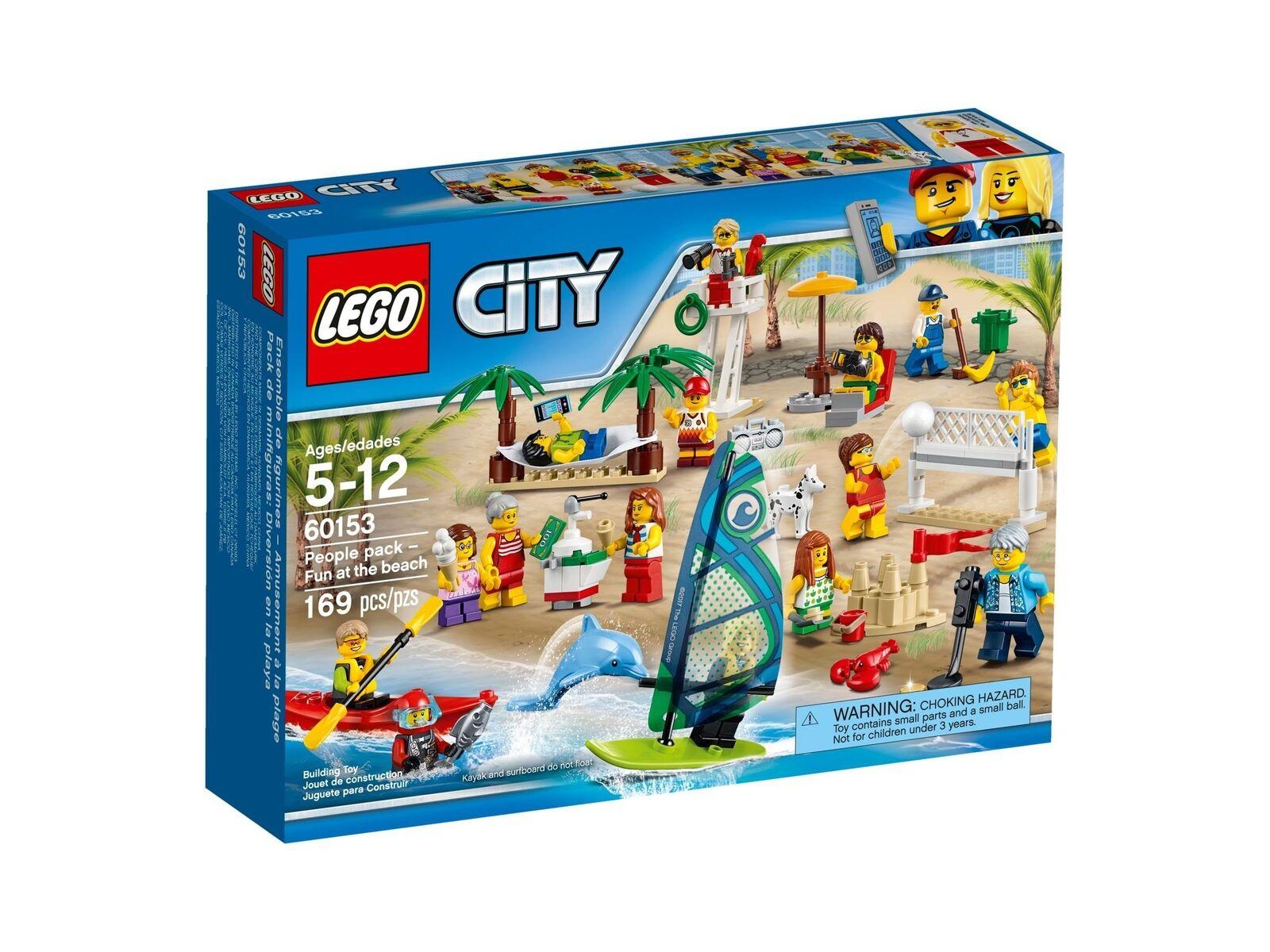 Lego City 60153 Cittadino – Ein Tag Sulla Spiaggia Nuovo Confezione Originale