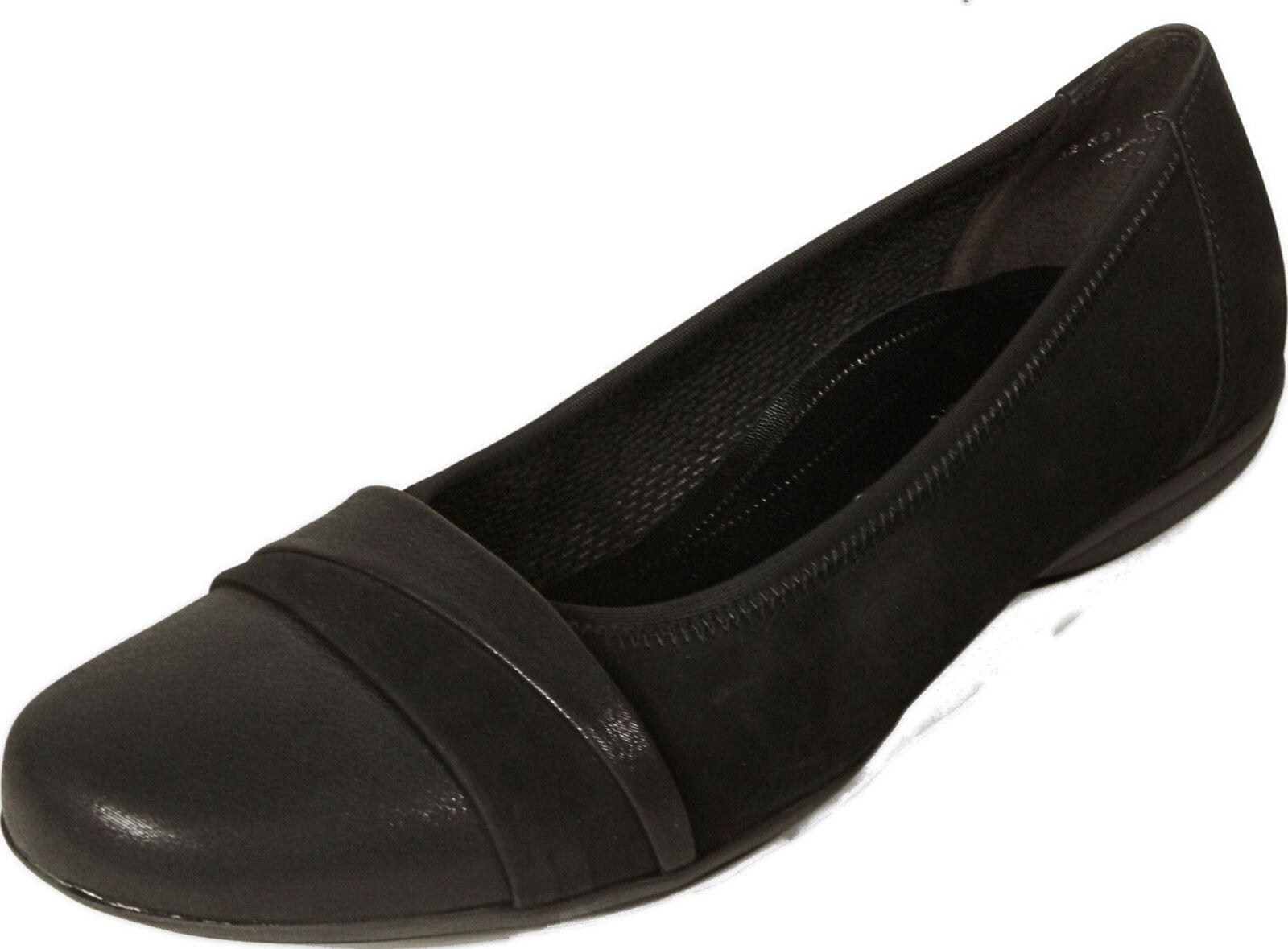 Gabor zapatos bailarinas negro ancho nobuck g cuero genuino nuevo nuevo nuevo  Tu satisfacción es nuestro objetivo