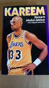 KAREEM ABDUL-JABBAR signed KAREEM 1990 Book TOP 50 Player LOS ANGELES LAKERS