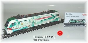 "RailAd 1036 AC E-Lok Taurus Siemens 1116 130 ""e-card"" Wechselstromversion #NEU# - Nürtingen, Deutschland - RailAd 1036 AC E-Lok Taurus Siemens 1116 130 ""e-card"" Wechselstromversion #NEU# - Nürtingen, Deutschland"