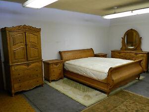 oakwood interior bedroom set  QUEEN OR KING  #126