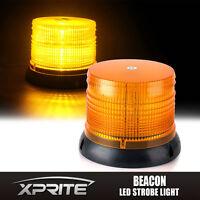 Xprite 12 LED Emergency Vehicle Flash Strobe & Rotating Beacon Light 6 Inch