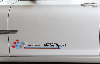 A Pair ☆WRC☆ Car Side Door Body Sticker Decal Graphics Strips For Suzuki(Black)