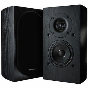Pioneer SP-BS22-LR Speakers Andrew Jones Designed Bookshelf Loudspeakers. 1 Pair