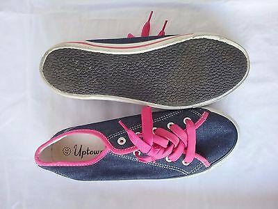 Damen Schuhe __ Gr. 40 __ von Uptown __ Jeans mit Pink