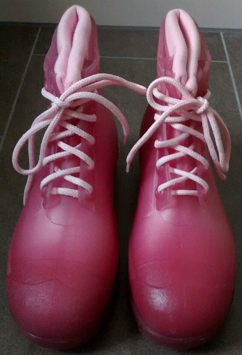 Design Rain Boots/ Gummistiefel Gr. 40 in pink IT-Piece für Hunters Fans