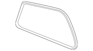 Genuine Toyota Mirror Glass 87903-0C030