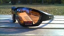 2e5c971fa9 Maxx HD Motorcycle Sunglasses Black Brown Lens Foam 2.0 Padding ATV A1