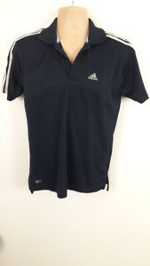 MENS-ADIDAS-NAVY-BLUE-COLLARED-SPORTS-POLO-SHIRT-TOP-T-SHIRT-SIZE-UK-S