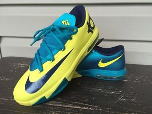 factory price 96d05 d78e6 Image is loading Nike-Zoom-Boys-KEVIN-DURANT-Basketball-shoes-GS-