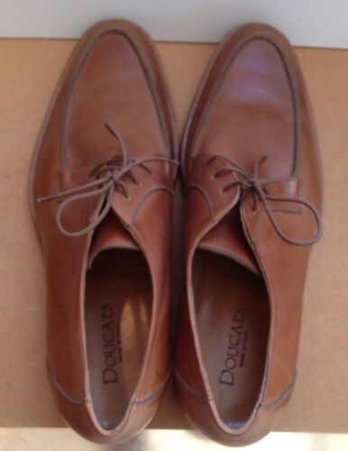 Doucal's Leather Shoes Lace 45 Size Men's Up r6wqr7