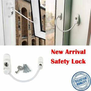 Child-Safety-Guard-Door-Security-Chain-Catch-Cable-Window-Wire-Lock-Restrictor