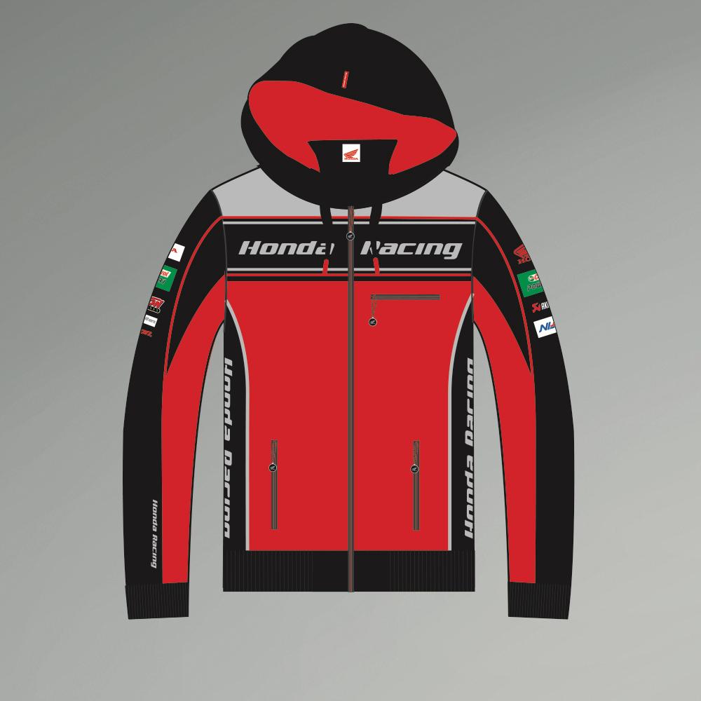 2017 Offiziell Honda Rennsport Bsb Hoddie
