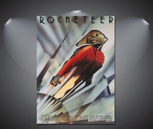 A4 Sizes A2 A1 A0 The Rocketeer Vintage Movie Poster A3