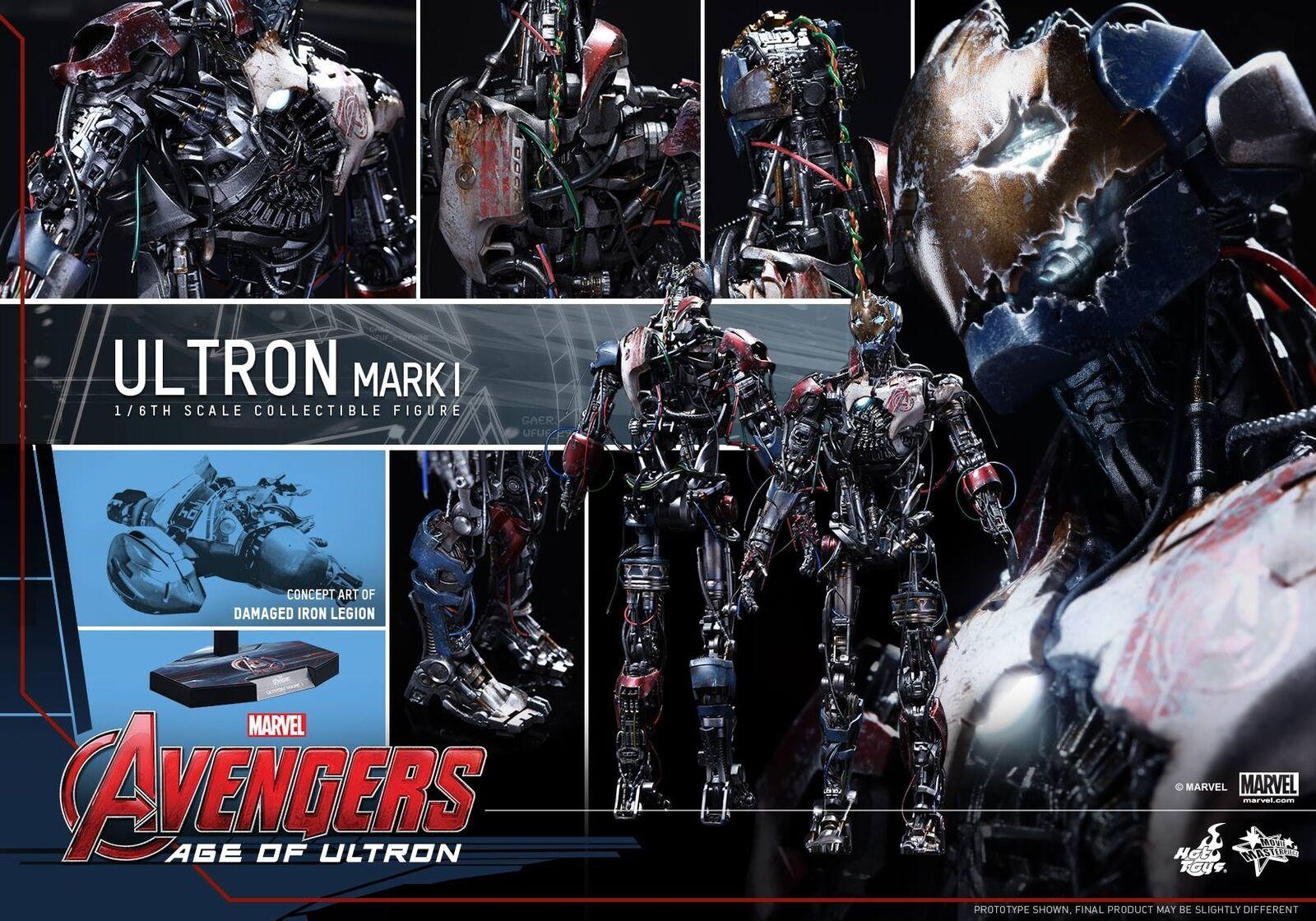 Hot Toys 1 6 Marvel Avengers mms292 Ultron mk1 Mark I Masterpiece Action Figure
