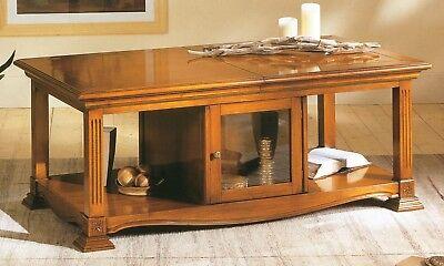Glorioso Tavolino Bar In Noce Stile Impero Piano Scorrevolexsala Salotto Soggiorno H792