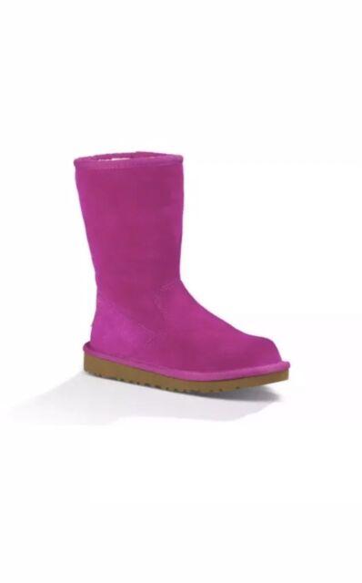 68ec3edba24 UGG AUSTRALIA Girl's K LIL Sunshine Boots Size 6 US 5948 Victorian Pink