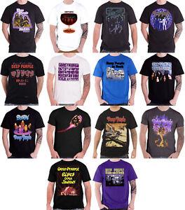 Officiel-Deep-Purple-T-Shirt-Fireball-Stormbringer-Burn-Japan-Tour-Homme-Nouveau