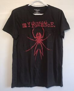 MCR-My-Chemical-Romance-2017-Distressed-Pocket-T-Shirt-Spider-Concert-Small