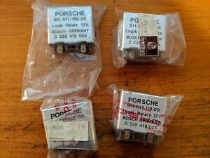 nos-Porsche-911-911s-1974-1977-Seat-Belt-Relay-91161711800-new-old-stock-in-bag