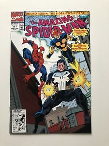 The-Amazing-Spider-Man-357-Jan-1992-Marvel-Vintage-The-Punisher-High-Grade