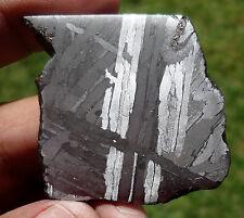 38.1 gram SEYMCHAN METEORITE-  Etched Iron Slice