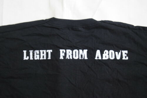 BLACK TIDE LIGHT FROM ABOVE T SHIRT NEW OFFICIAL POST MORTEM CHASING SHADOWS