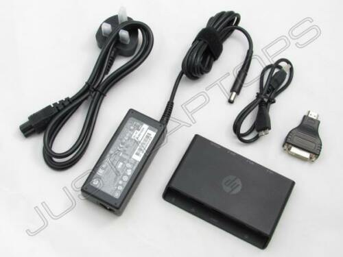 HP 3001PR USB 3.0 Docking Station replicatore di porte con VGA HDMI Adattatore ca Inc LW