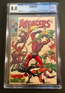 Avengers-55-Marvel-1968-Silver-Age-Comic-Book-1ST-FULL-APP-of-ULTRON-CGC-8-0