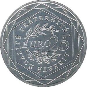 France-25-Euro-2009-Semeuse-en-Argent-Piece-de-Monnaie-jamais-circule