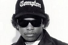 EAZY E Sunglasses BLACK w GLASS LENS men straight outta compton movie bompton
